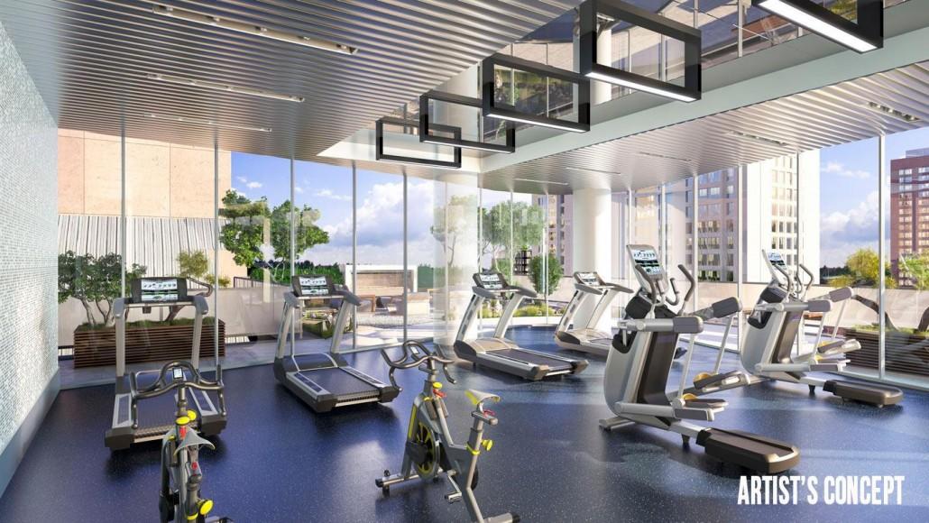 Stanley Condos Gym