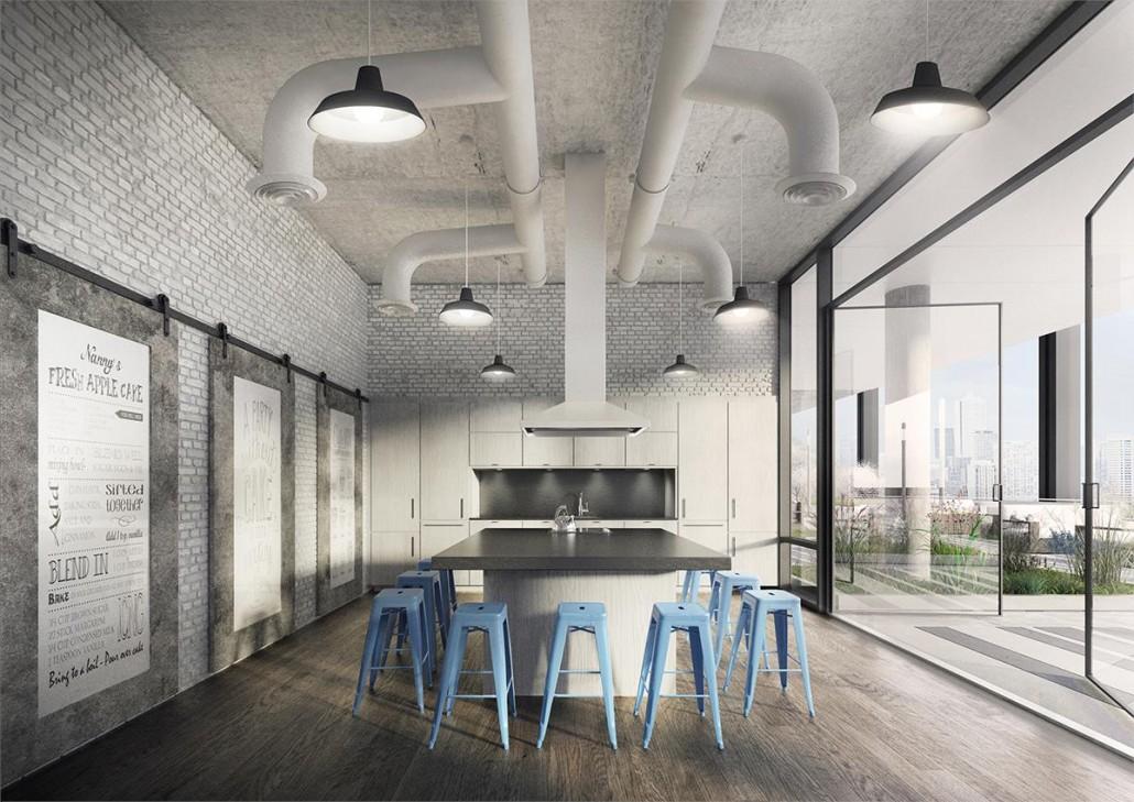 Whitehaus Condos Flex Space