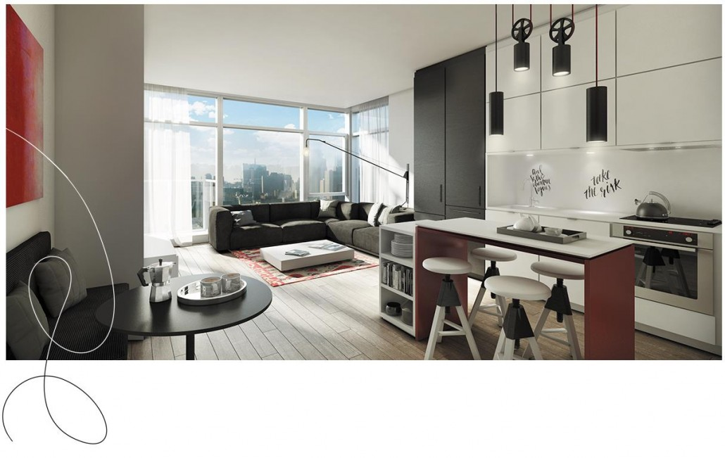Whitehaus Condos Suite Rendering