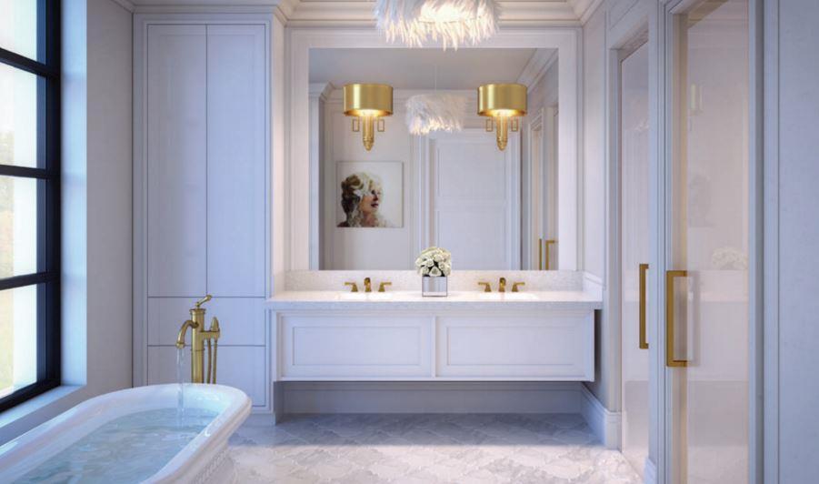 200 Russell Hill Condos Bathroom