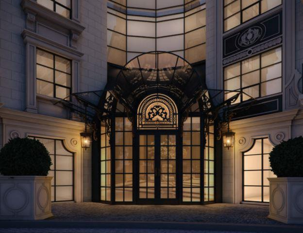 200 Russell Hill Condos Entrance
