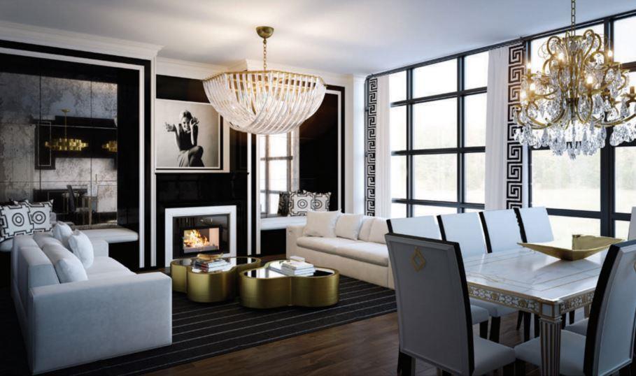 200 Russell Hill Condos Living Room