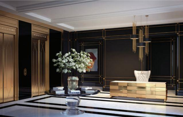 200 Russell Hill Condos Lobby
