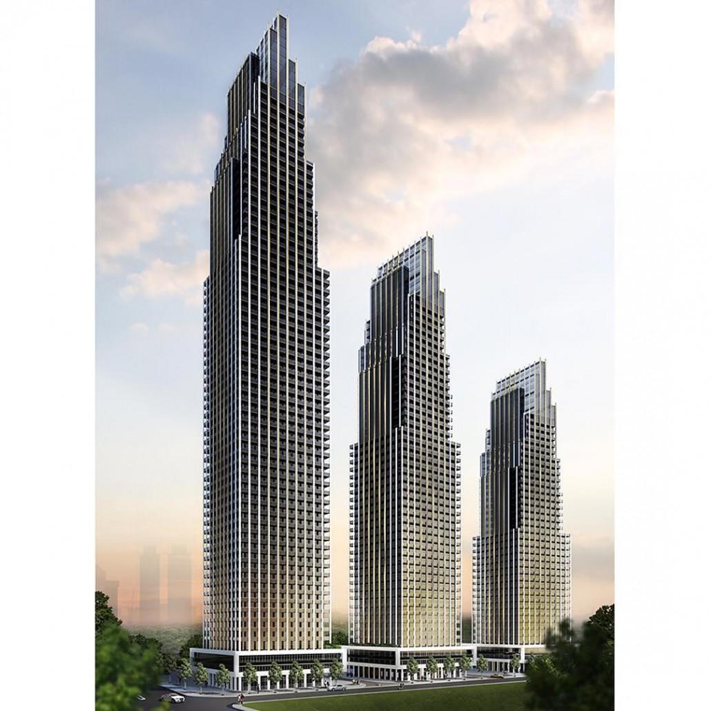 Edge Towers Exterior