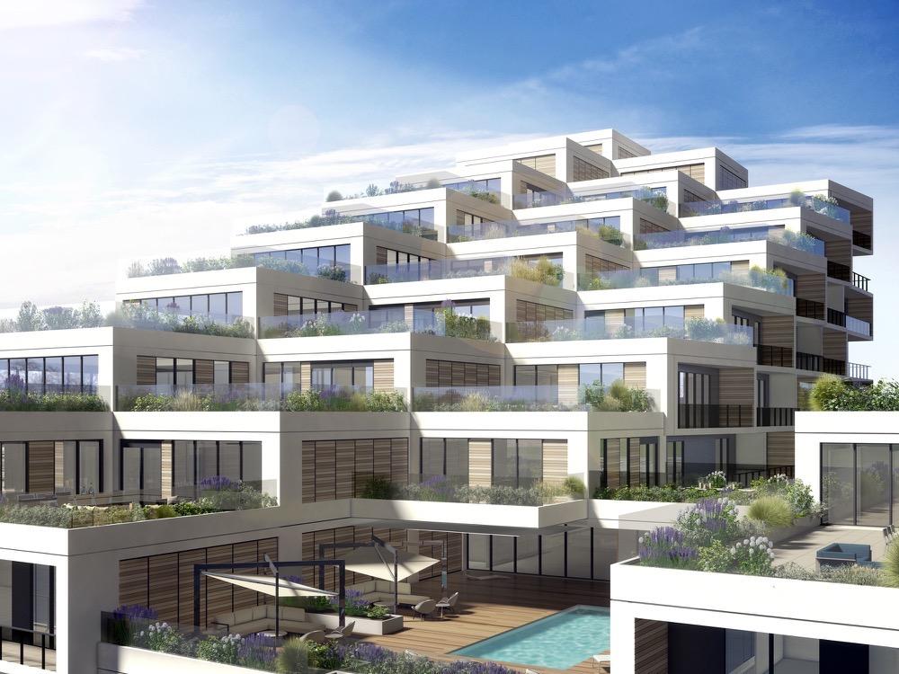 View of Terraces at Aquabella Condos
