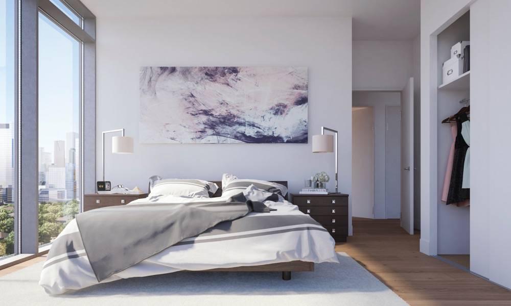 Bedroom Rendering at Home Condos