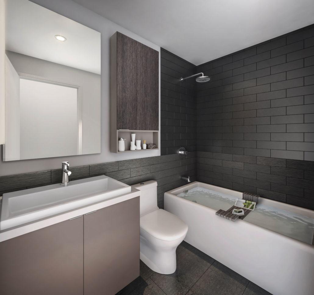 SuperSonic Condos Bathroom