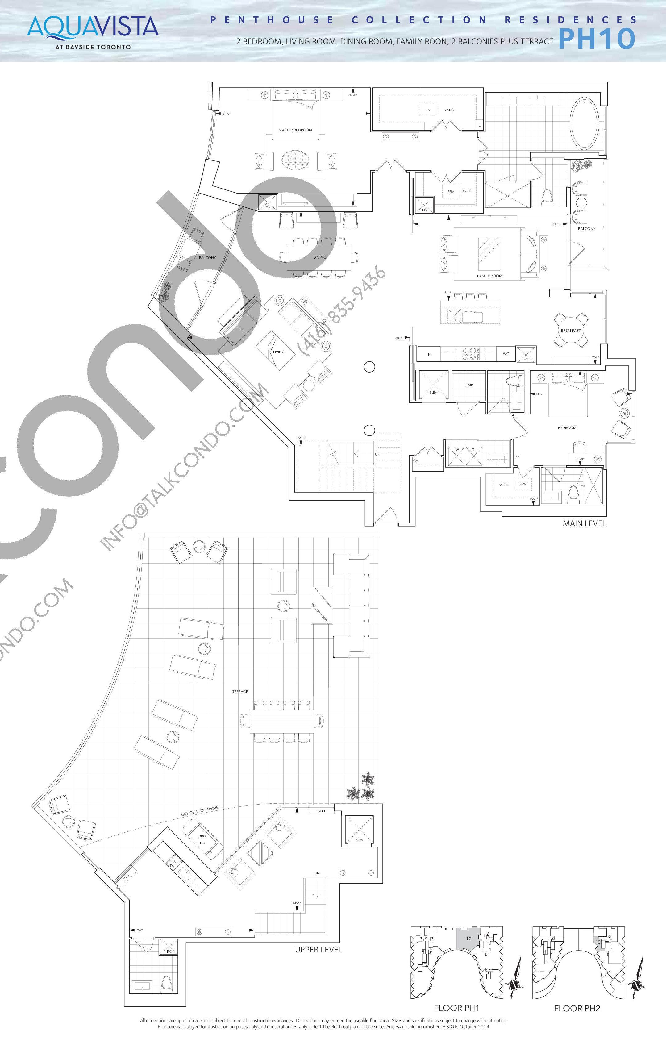 Aquavista At Bayside Condos Floor Plans Prices Availability Talkcondo