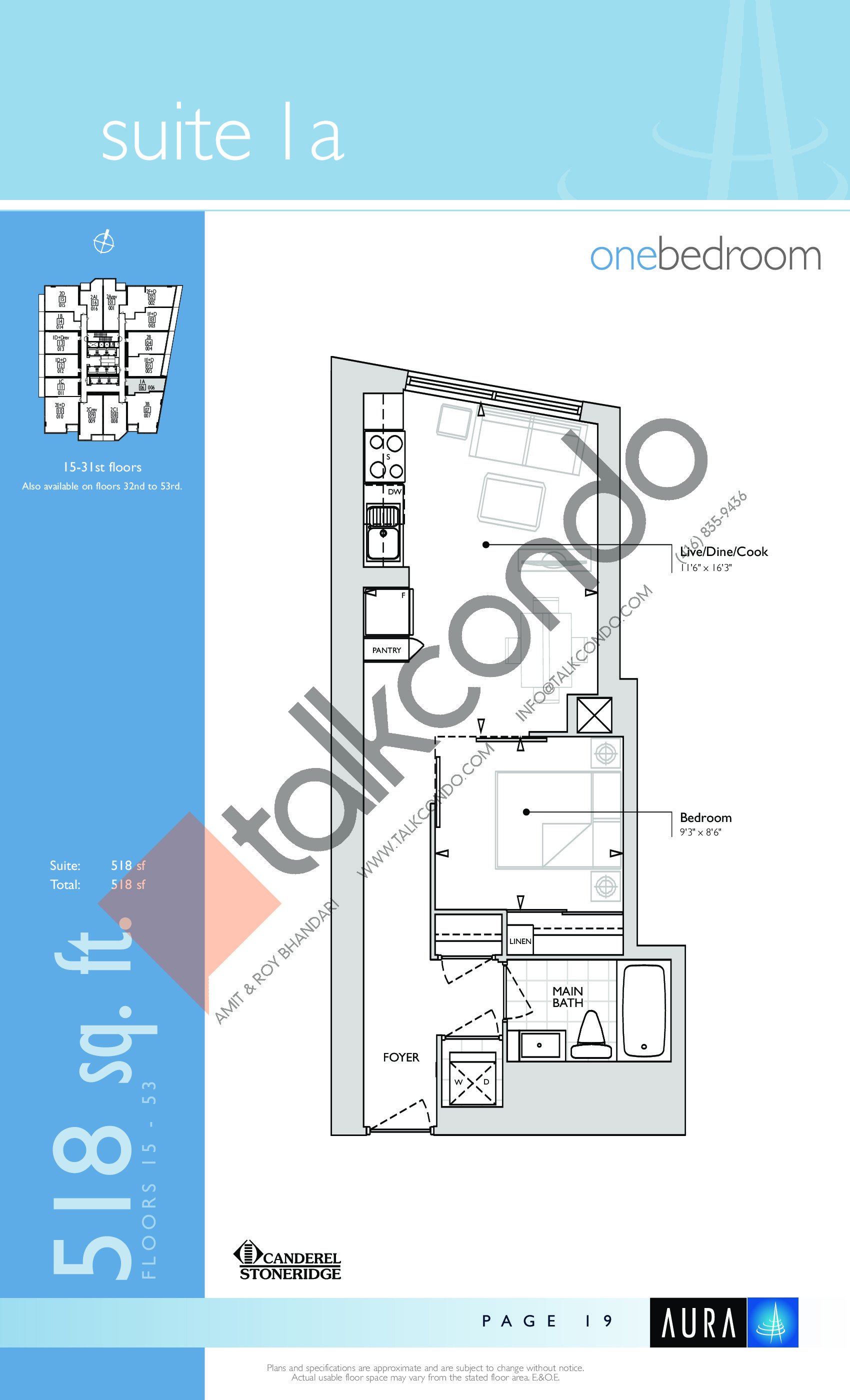 Aura At College Park Condos Floor Plans Prices Availability Talkcondo