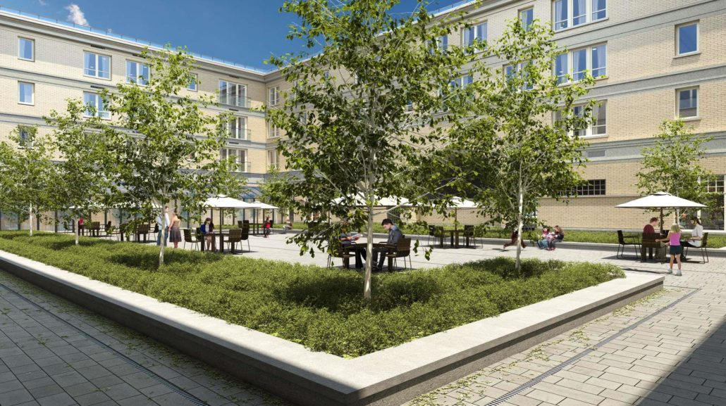 The Courtyards at Cathedraltown Rendering
