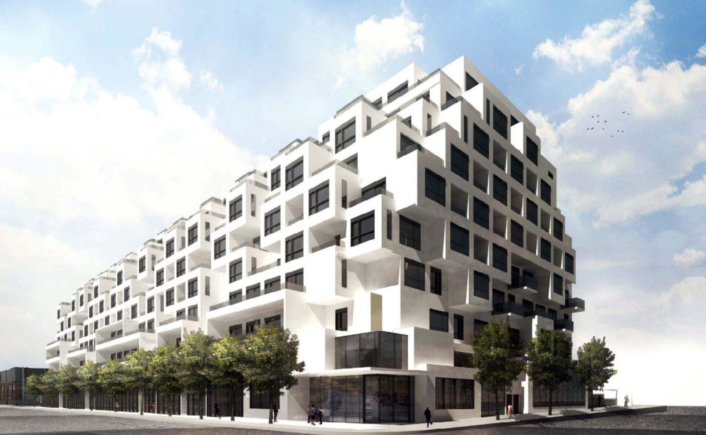 420 Dupont Street Condos Exterior Rendering
