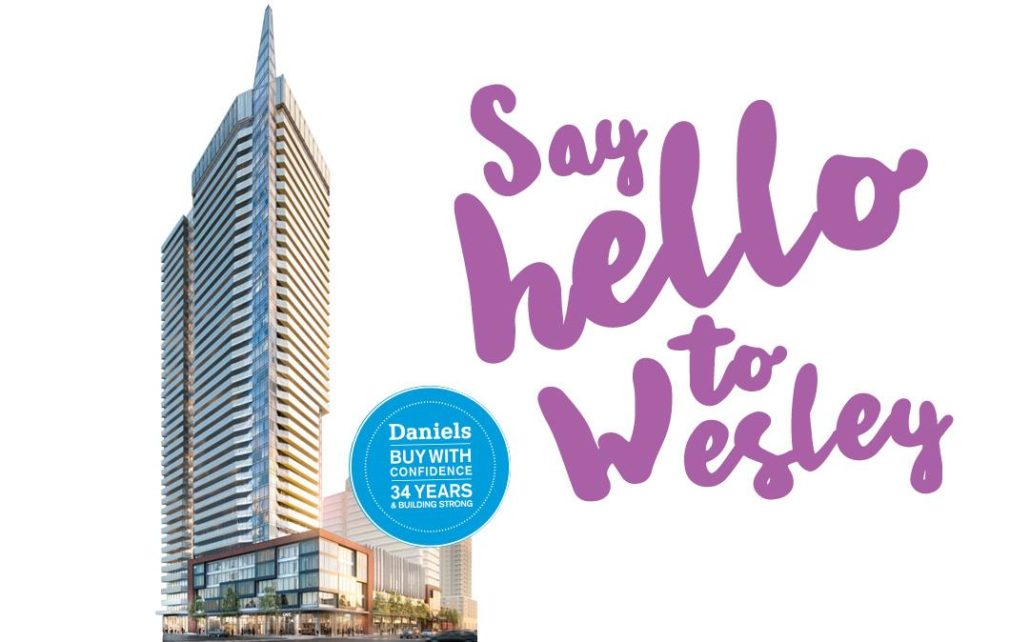 Wesley Tower at Daniels City Centre Rendering