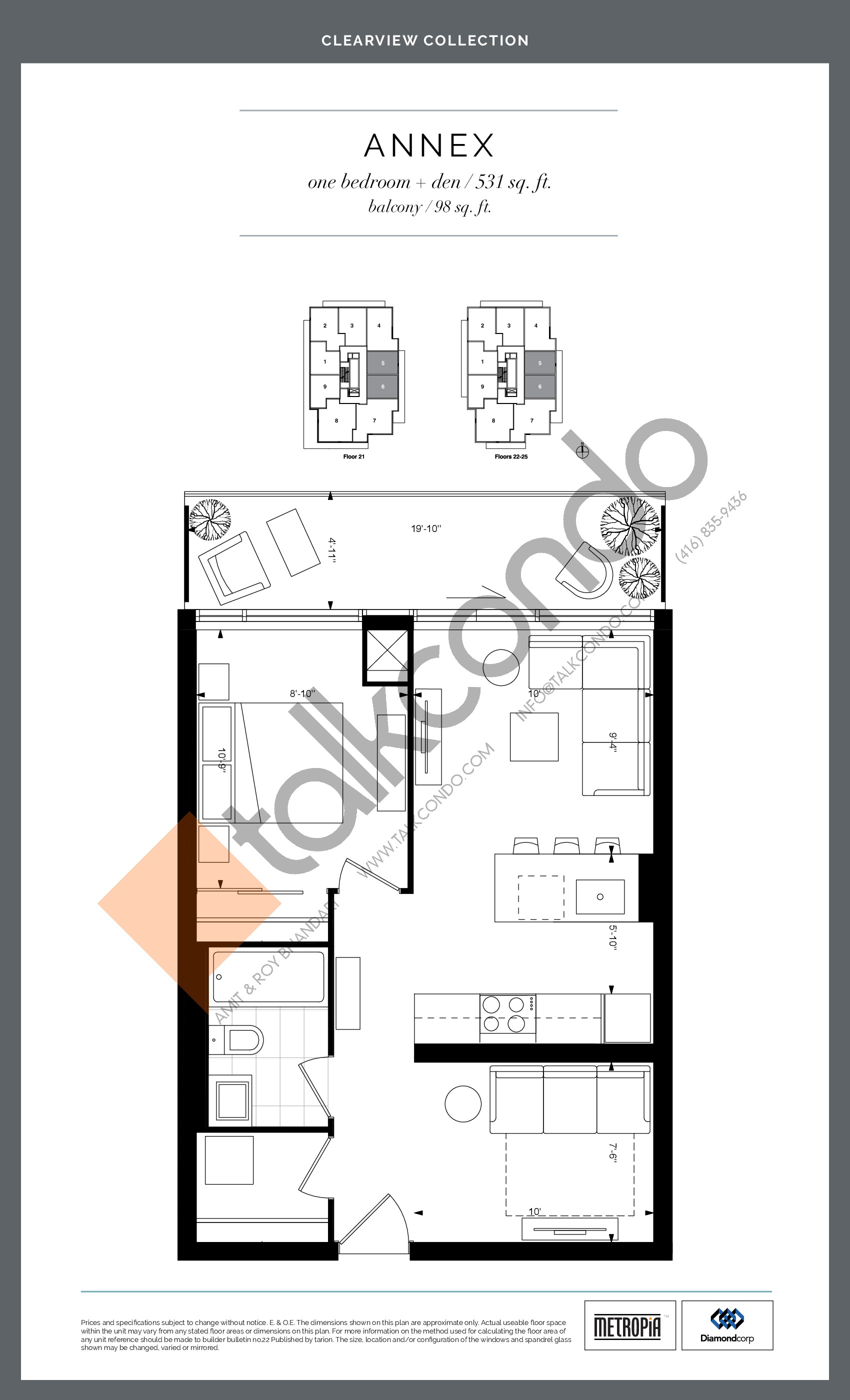 Ayc Annex Yorkville Connection Floor Plans Prices Availability Talkcondo