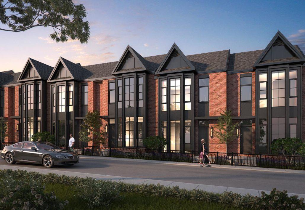 King George School Lofts & Residences Rendering