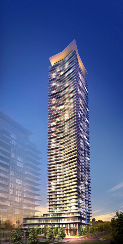 Water's Edge at the Cove Condos Rendering