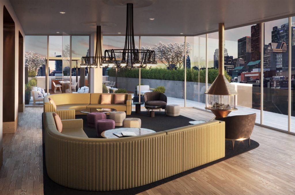 Fleur Condos Lounge