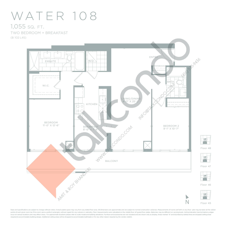 Eau Du Soleil Condos Floor Plans Prices Availability Talkcondo