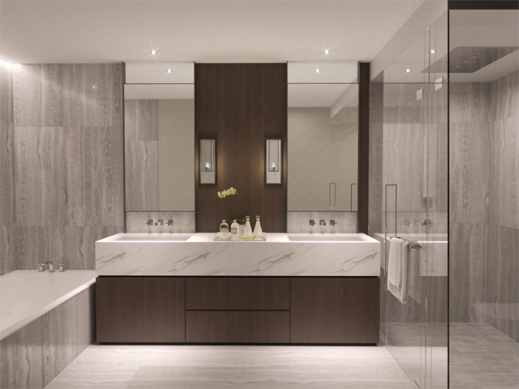 One Forest Hill Bathroom Interior