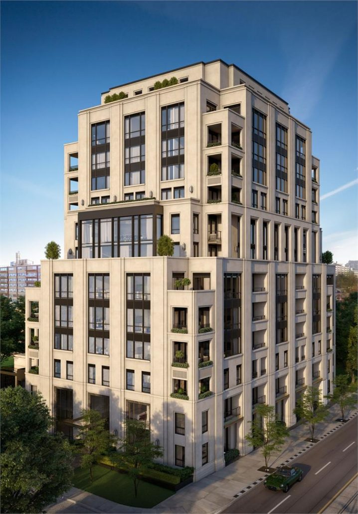 One Forest Hill Exterior Rendering
