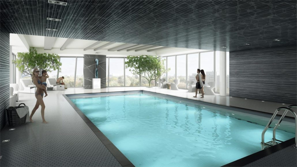 Nord West at Expo City Condos Pool