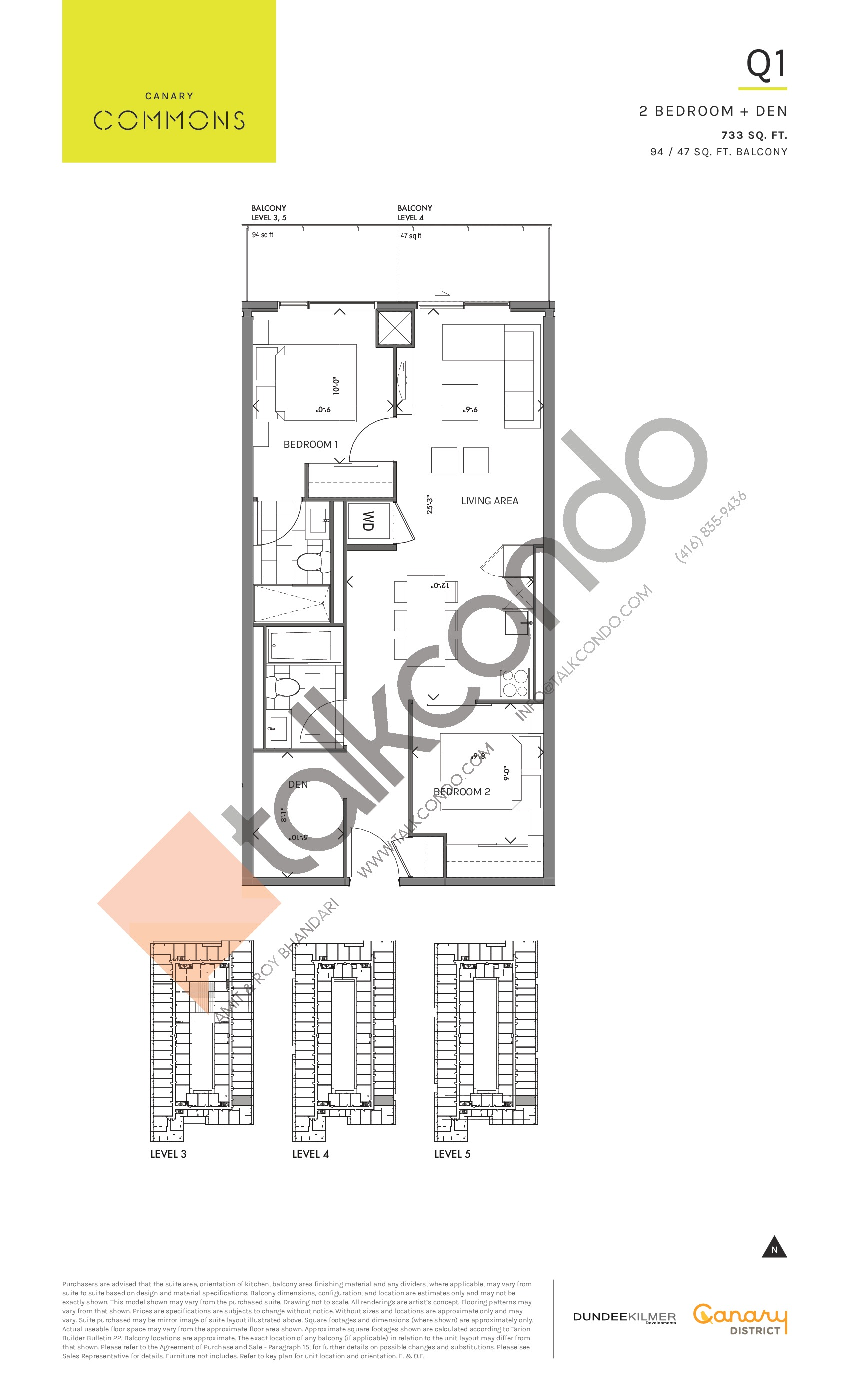 Canary Commons Condos  Floor Plans, Prices, Availability - TalkCondo