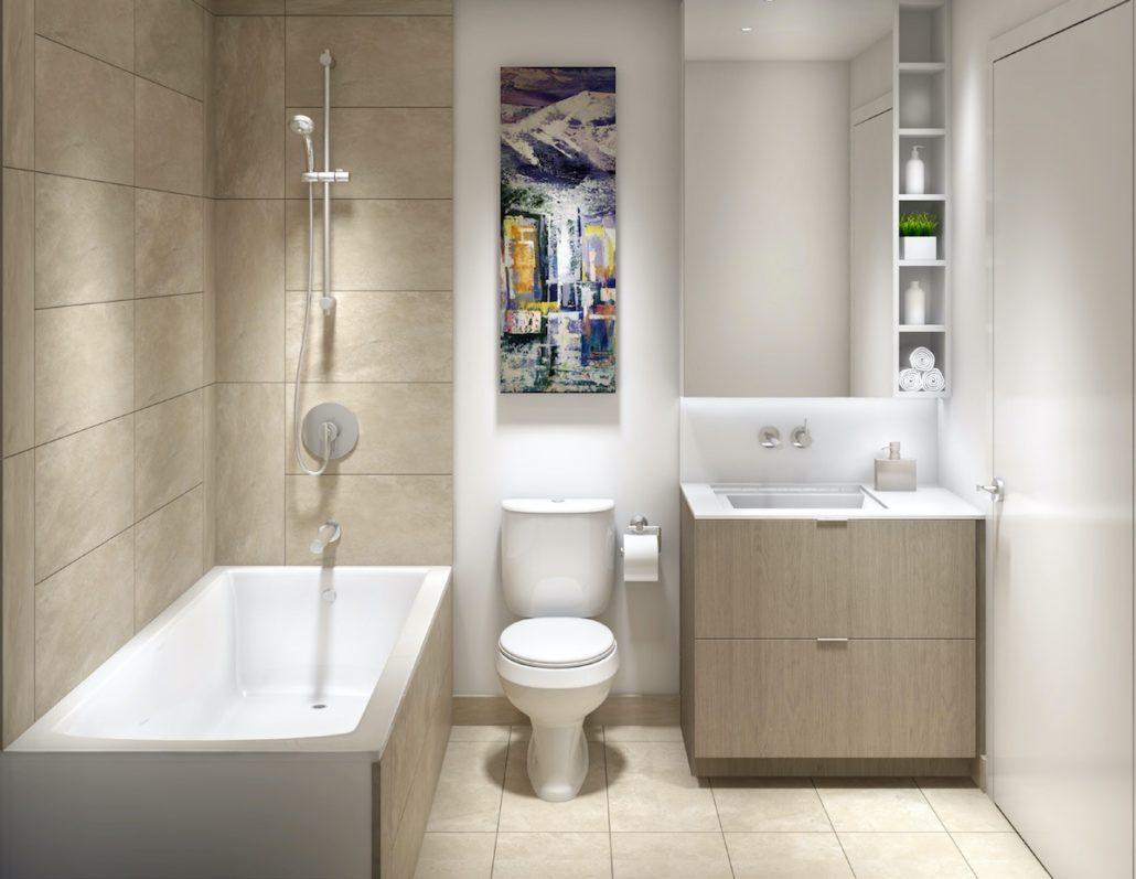 Lakeside Residences Bathroom