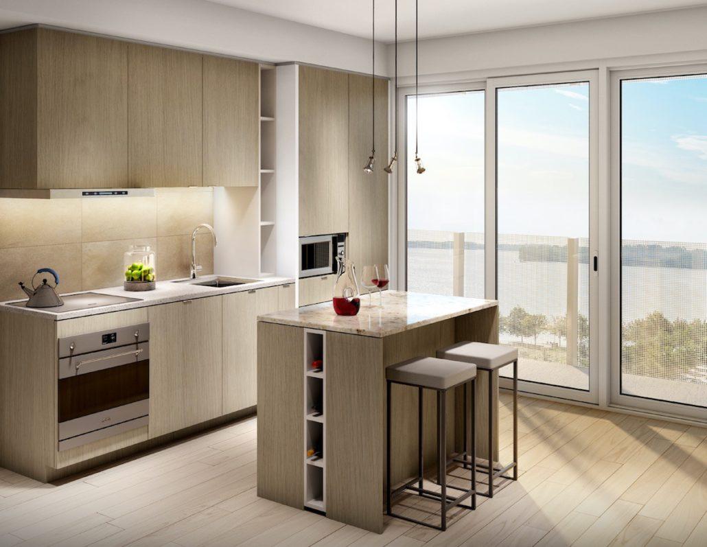 Lakeside Residences Kitchen