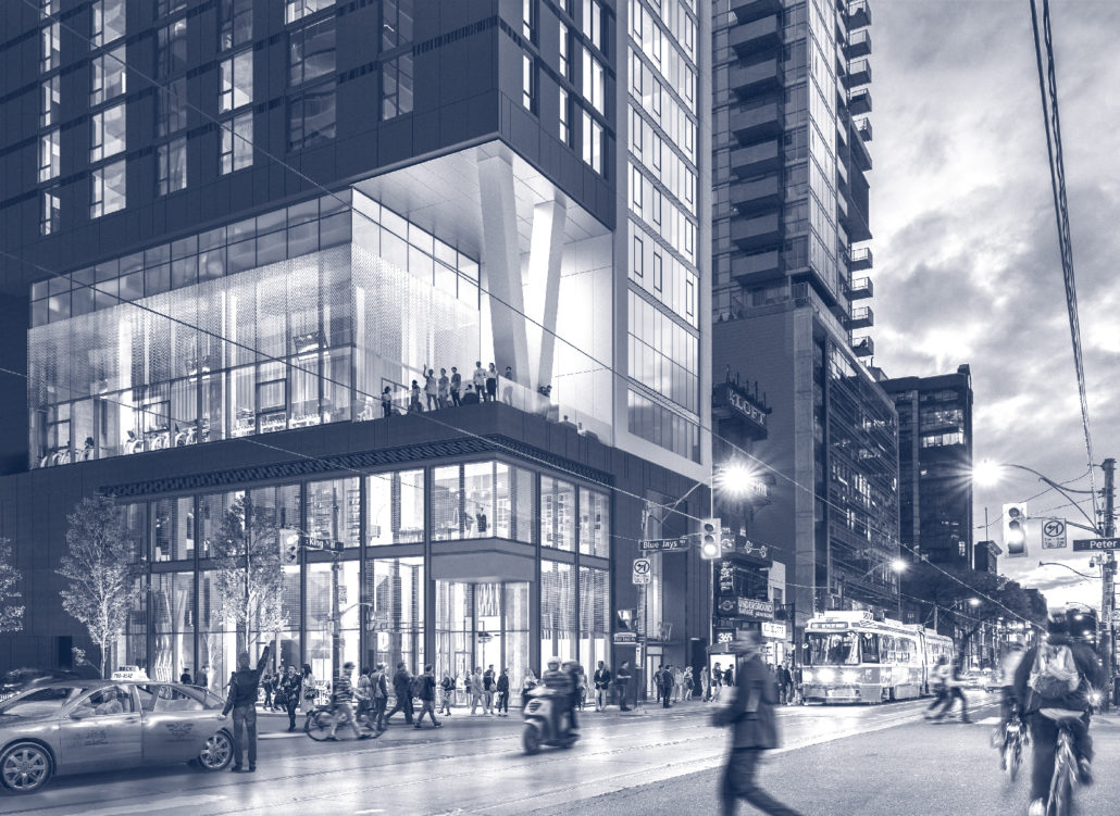357 King West Condos Rendering