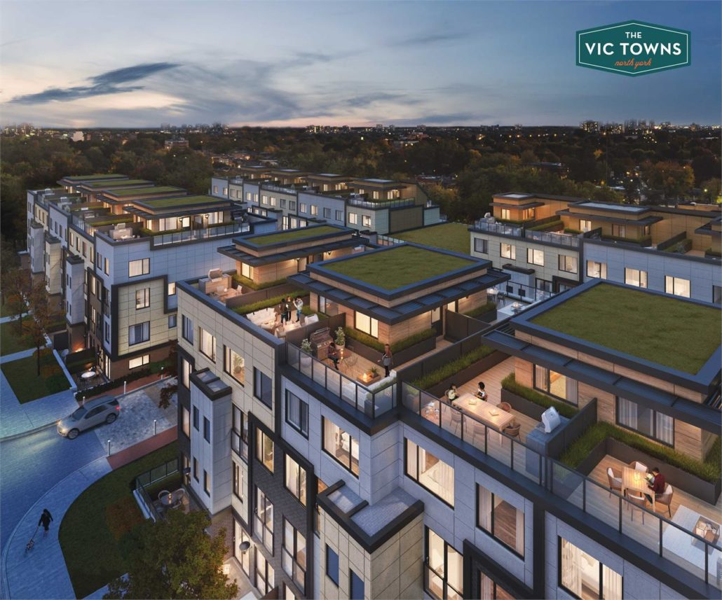 The Vic Towns Rendering