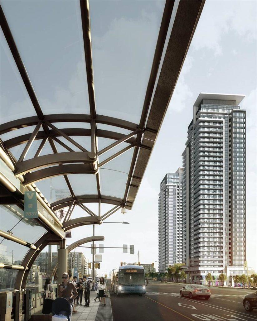 Pavilia Towers Condos Rendering