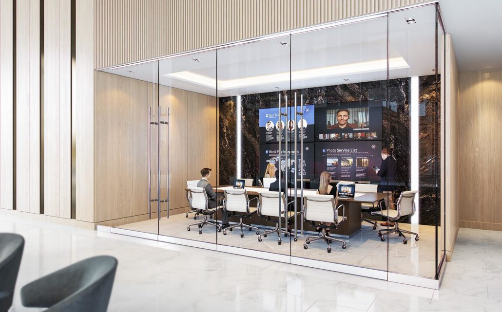 Central Condos Conference Room