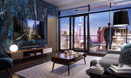 Central Condos Living Room