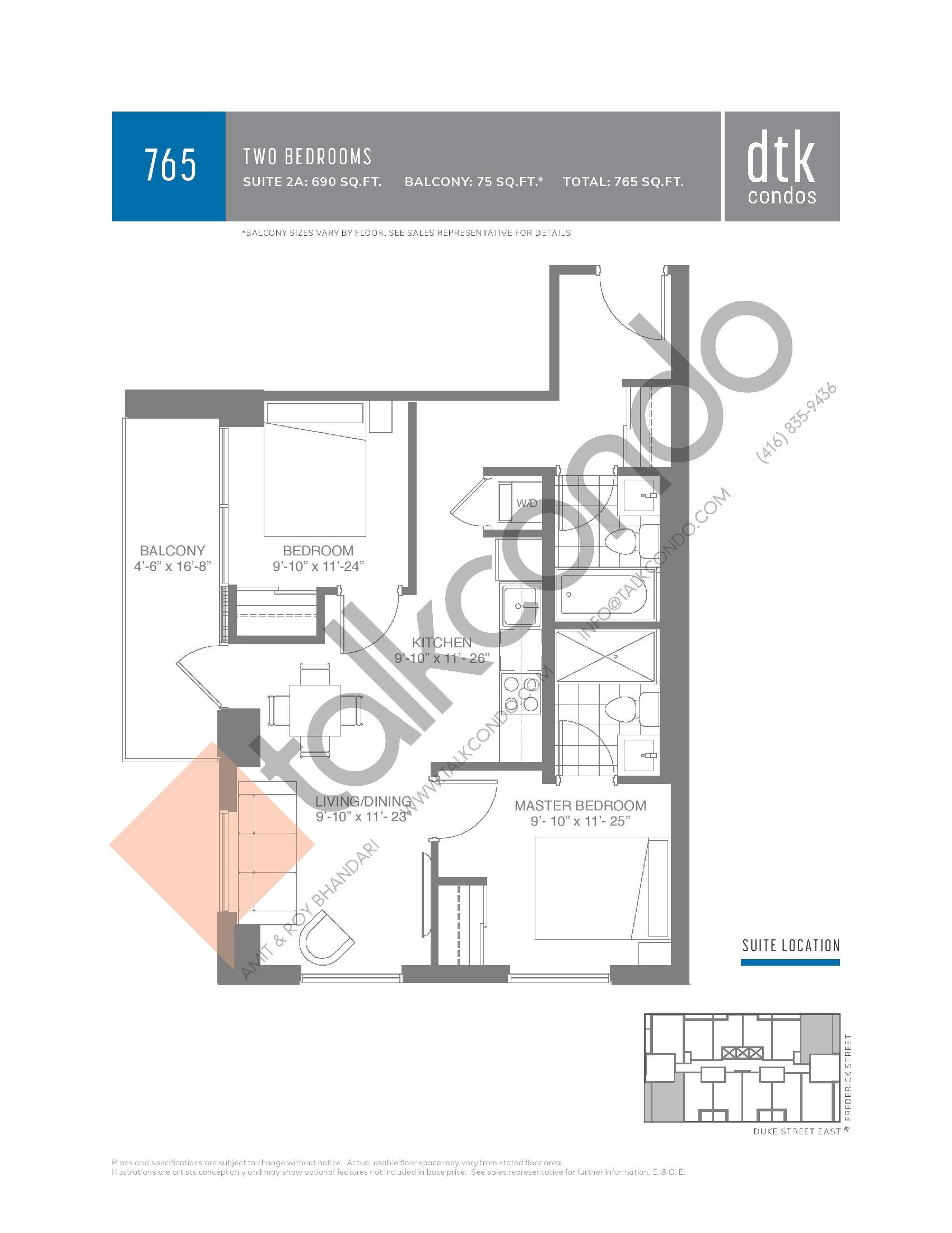 Dtk Condos Floor Plans Prices Availability Talkcondo