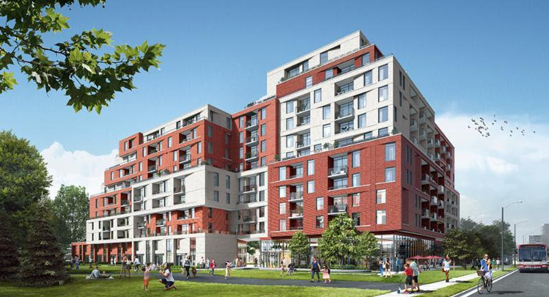 The Keeley Condos Rendering