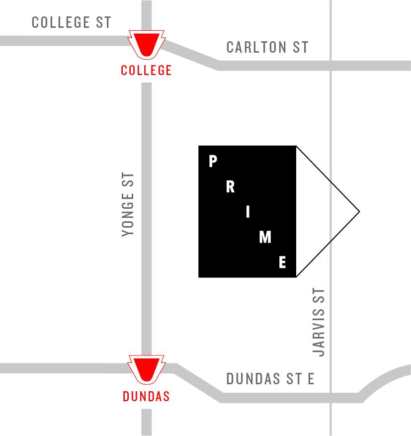 Prime Condos Map