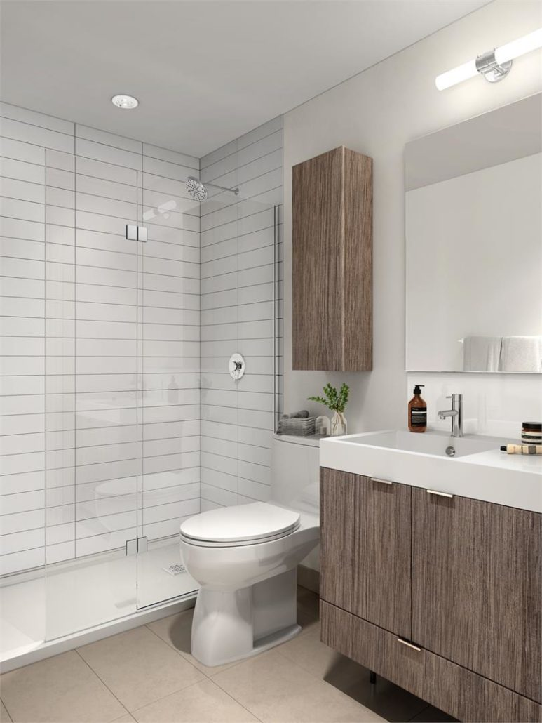 The Keeley Condos Ensuite