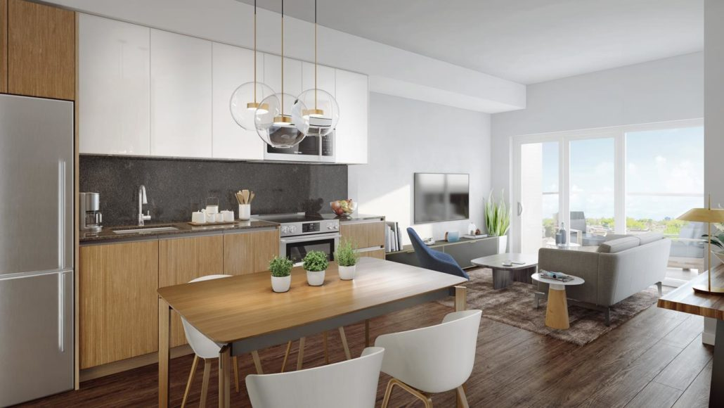 The Keeley Condos Suite Interior