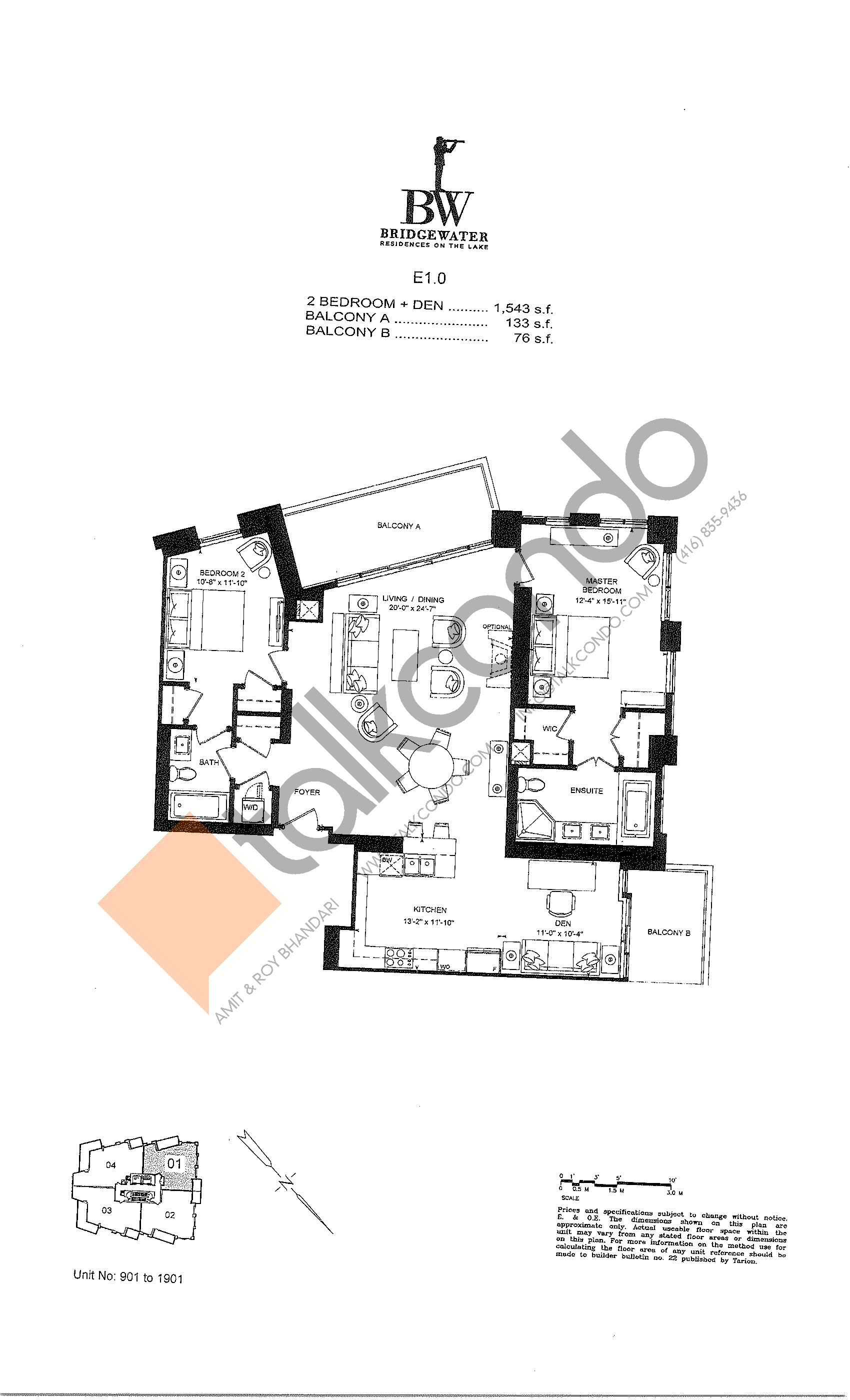 Bridgewater Residences On The Lake Condos Floor Plans Prices Availability Talkcondo