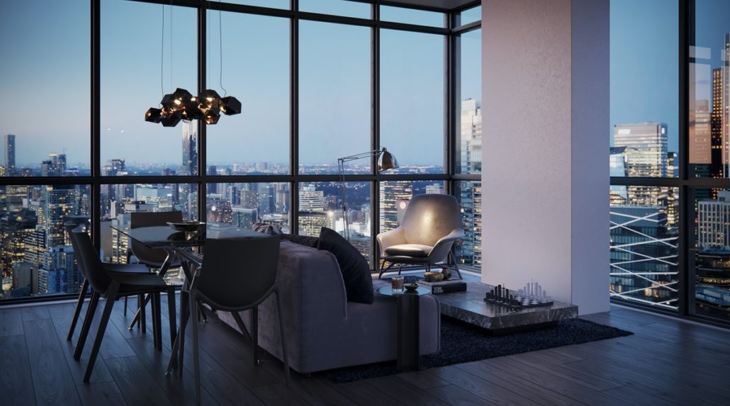 Empire Maverick Condos Interior Suite