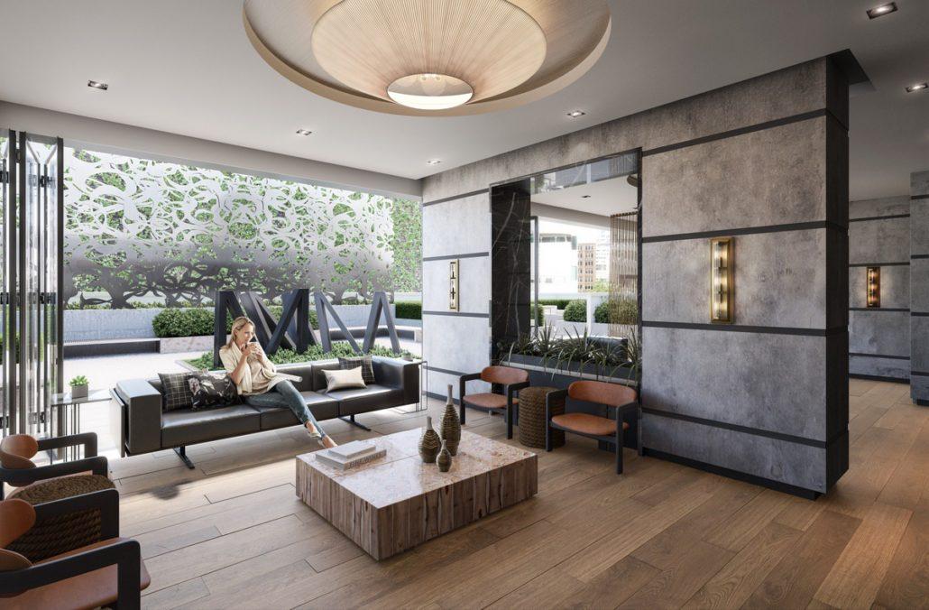Empire Maverick Condos Lounge