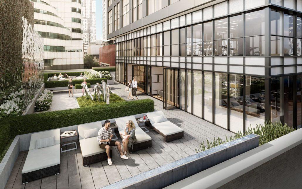 Empire Maverick Condos West Terrace