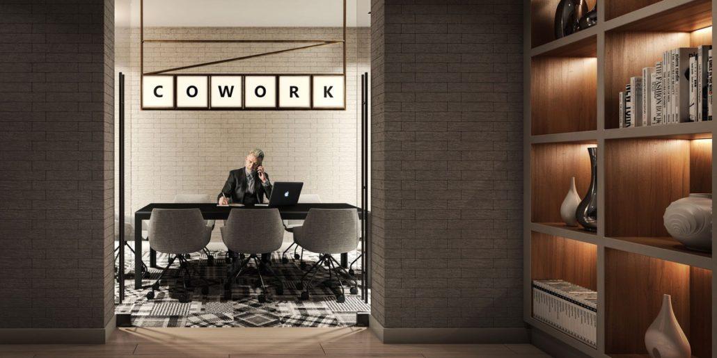 Empire Maverick Condos Work Space