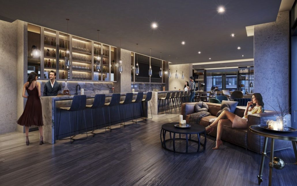 Empire Phoenix Condos Bar Lounge