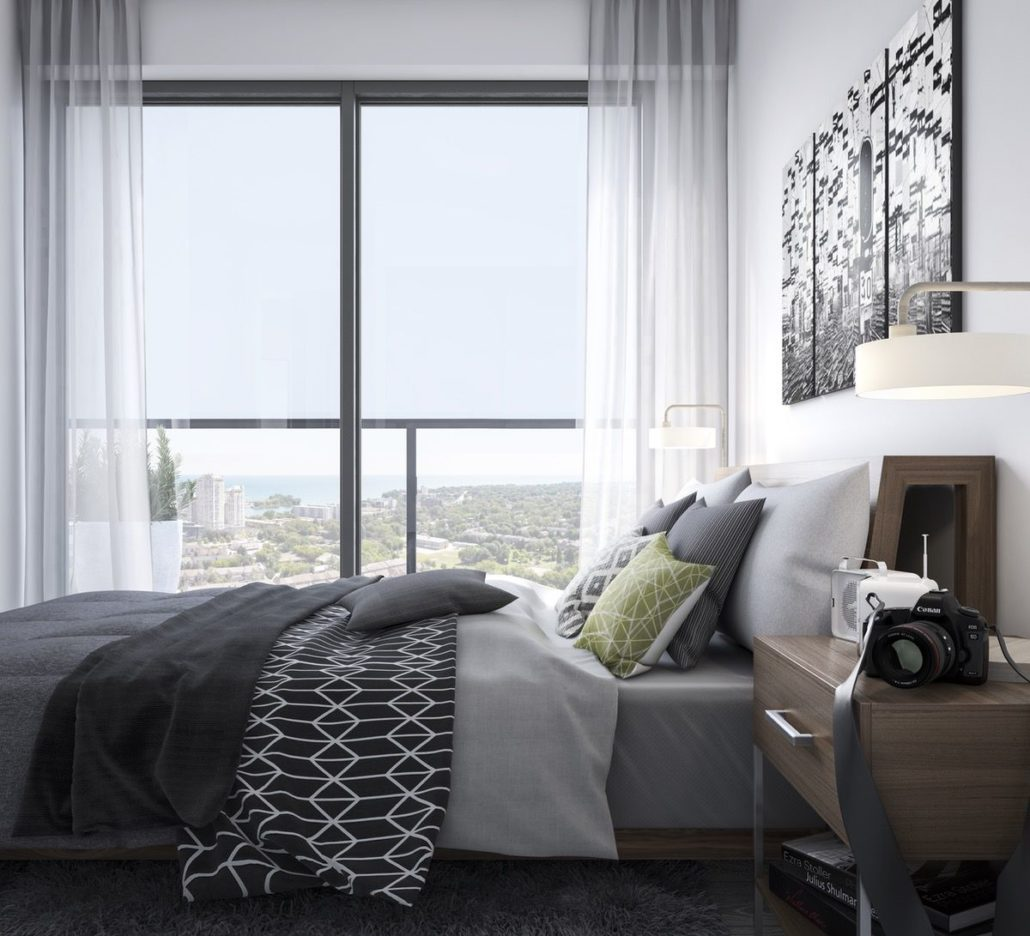Empire Phoenix Condos Bedroom