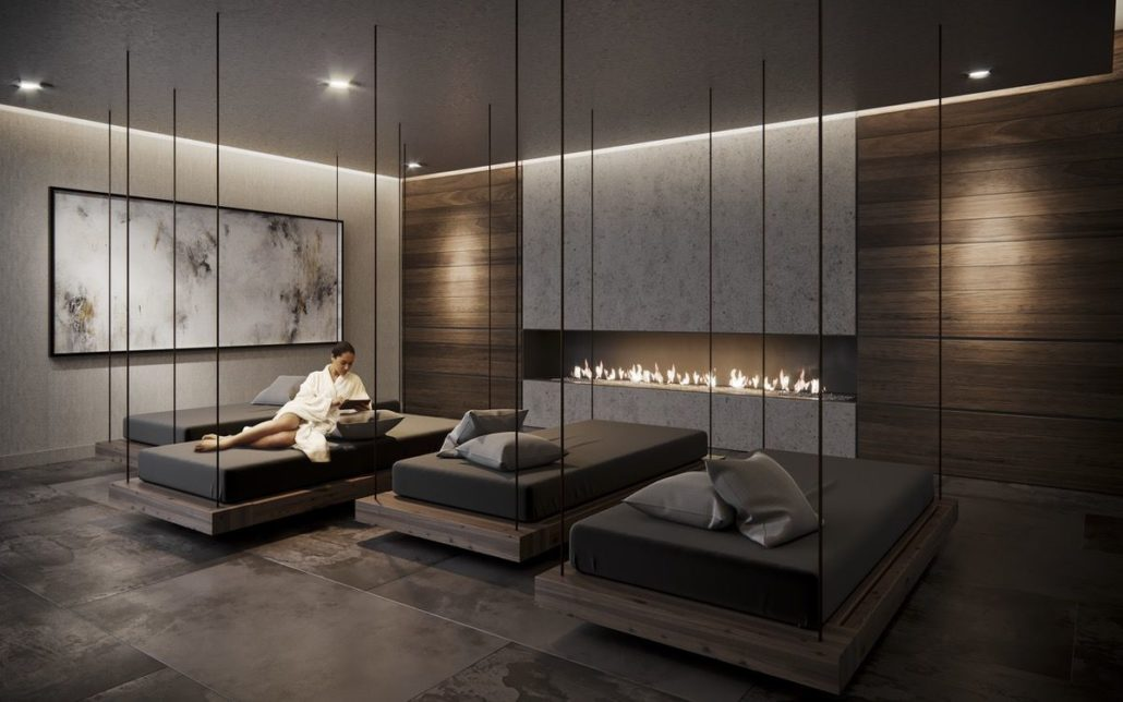 Empire Phoenix Condos Spa Lounge