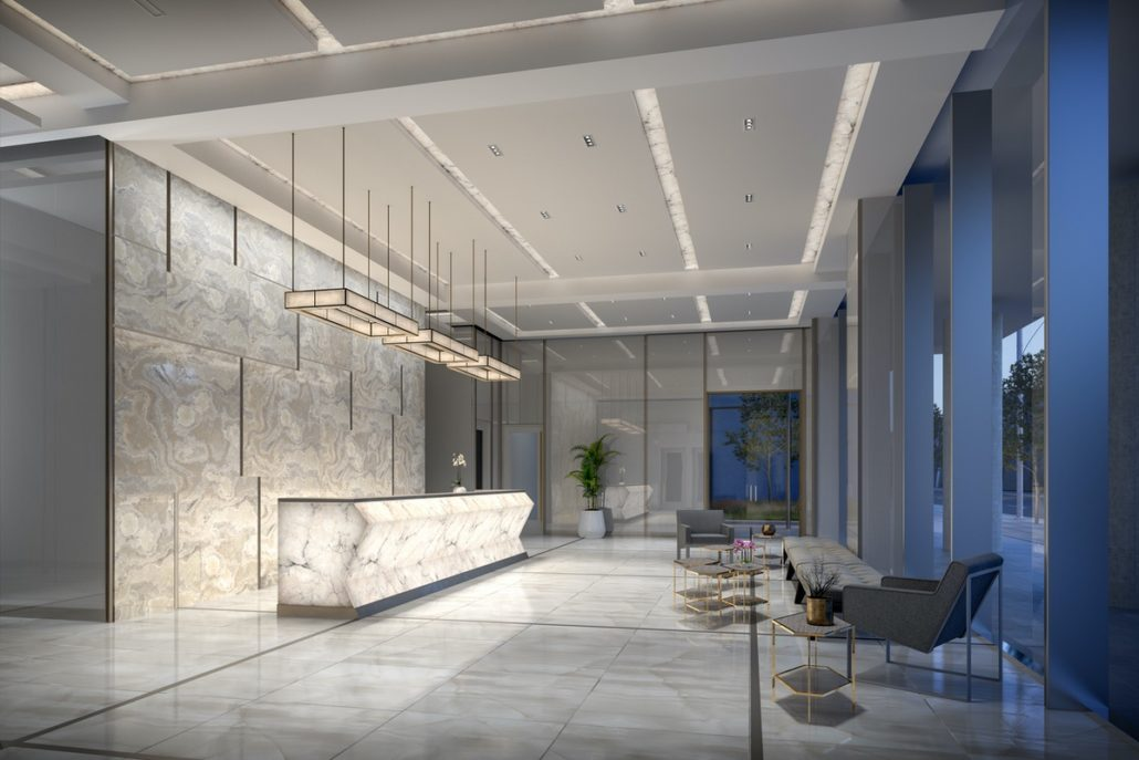 543 Richmond Condos Lobby