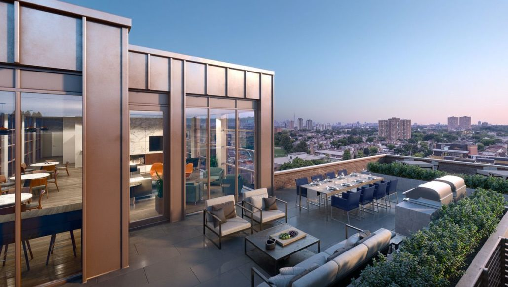 Scout Condos Rooftop Amenity