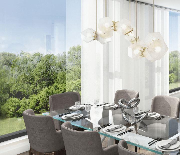 293 The Kingsway Condos Dining Area