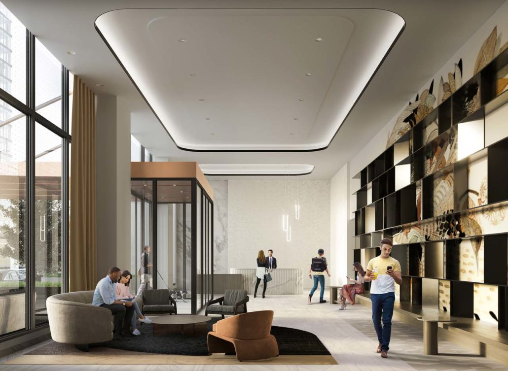 Artworks Condos Lobby