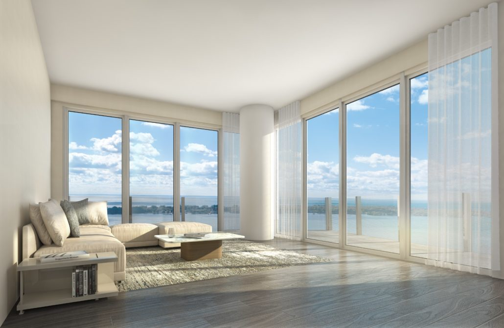 Lake Suites Tower Living Room